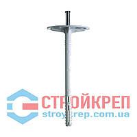 Термодюбель с металлическим гвоздём (белый), 10х80