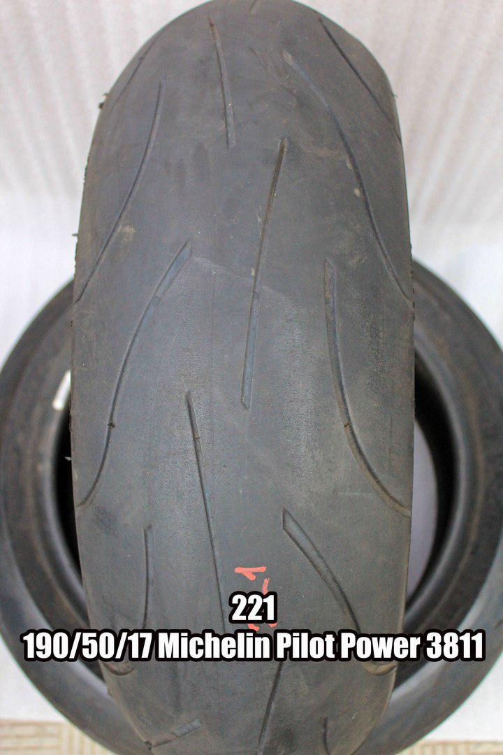 Резина Michelin Pilot Power (код 221) 190/50-17