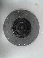 Диск сцепл, ведомый двигатели ЯМЗ и атомобилям МАЗ (универс,) 238-1601130
