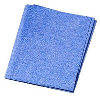 Тряпка профессиональная салфетка синяя неперфорированная для сушки кузова авто Германия