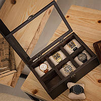 Деревянная шкатулка для хранения часов DABO Hetch DS2