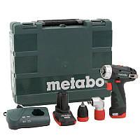 Аккумуляторный шуруповерт Metabo PowerMaxx BS Quick Pro (600157500)