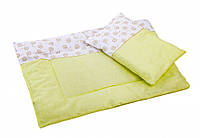 Набор в коляску Twins /одеяло и подушка/ multi, для куклы