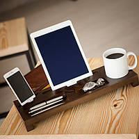 Подставка - органайзер для гаджетов «Wood Stand» из дерева