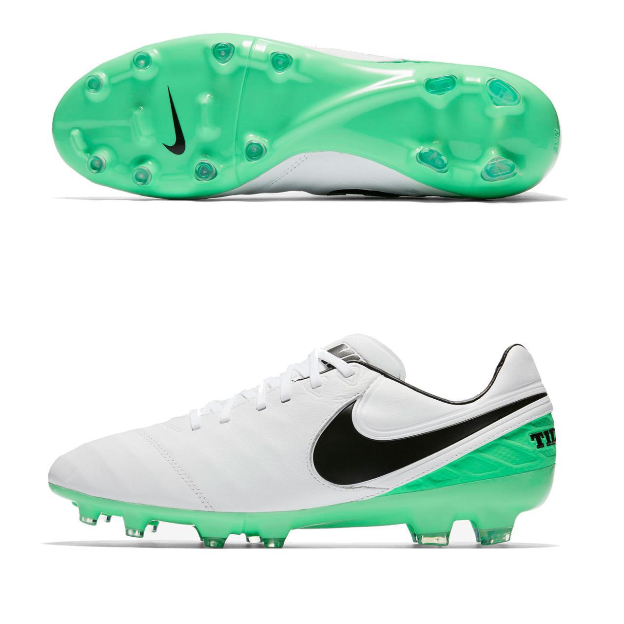 Футбольные бутсы Nike Tiempo Legacy II FG 819218-103