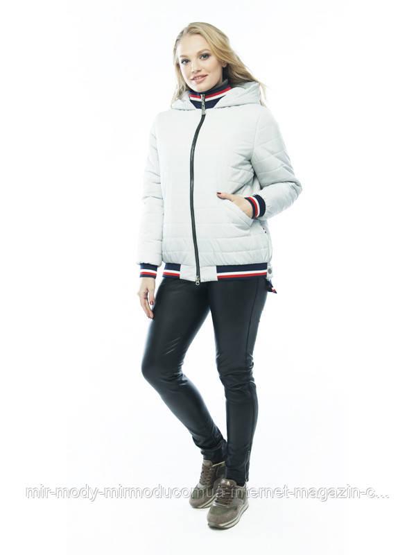 Демисезонная куртка «Бланка»  лед  с 48 по 58 размер wayk