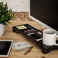 Деревянный органайзер «Desktop 2» для дома и офиса