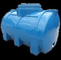 Емкость 200 литров горизонтальная двухслойная Рото Европласт