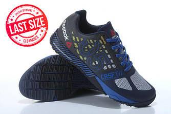 Кроссовки Reebok Crossfit Nano 5.0 Gray Blue Синие мужские