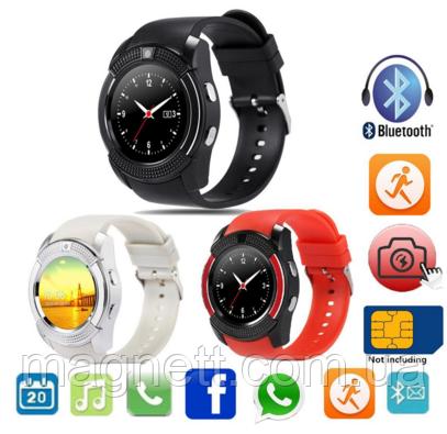 Смарт часы Smart Watch V8 умные часы, Часы Телефон