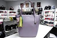 Мини сумочка из натуральной кожи Galanty 10511 n.pink