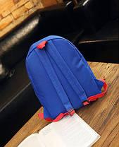 Большой тканевый рюкзак со шнуровкой, фото 3