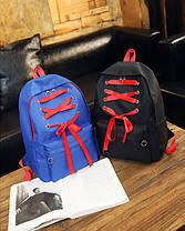 Большой тканевый рюкзак со шнуровкой, фото 2