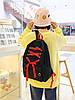 Большой тканевый рюкзак со шнуровкой, фото 4
