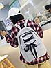 Большой тканевый рюкзак со шнуровкой, фото 5