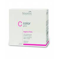Масло-баня для окрашенных волос Nouvelle Color Glow Bagno D'olio 10x10 ml
