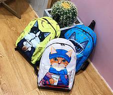 Большие оригинальные рюкзаки со стильными котами , фото 2