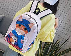Великі оригінальні рюкзаки зі стильними котами, фото 3