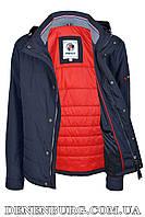Куртка мужская демисезонная INDACO ITC601 тёмно-синяя, фото 1