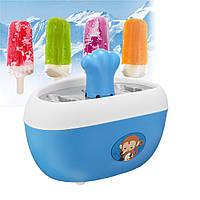Quick Pop Juice Popsicle Maker Ice Замороженные Pops Nonstick Cast-Aluminum Mold Blue Home Appliance