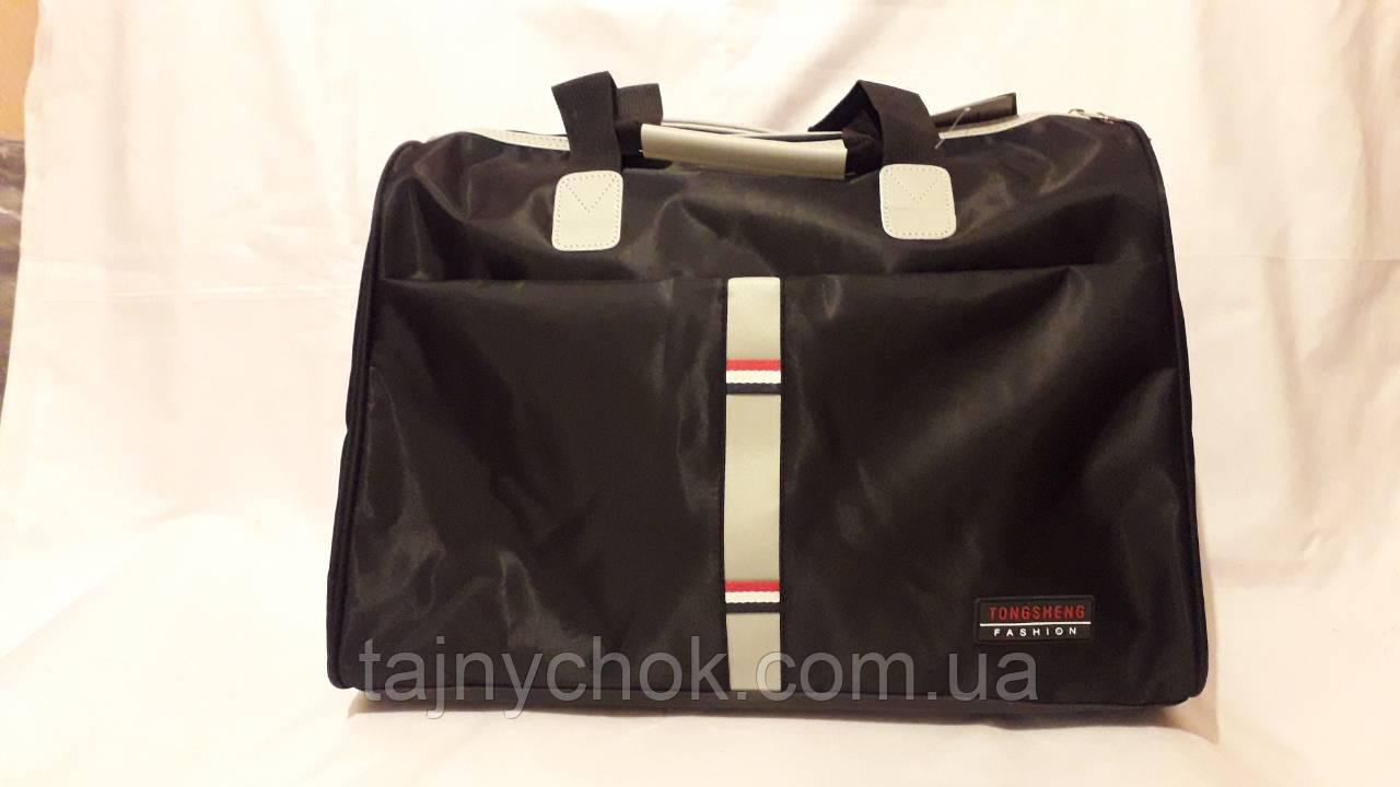 Дорожная сумка черная 50/33 TONGHENG FASHION