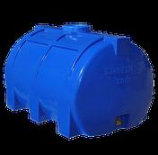 Емкость 150 литров горизонтальная однослойная Рото Европласт