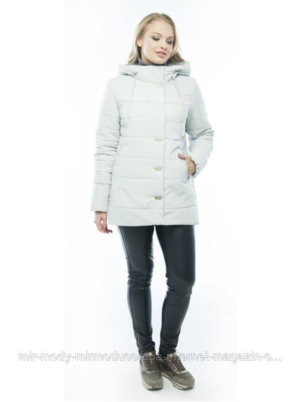 Демисезонная куртка «Кристина» лед  с 50 по 60  размер wayk
