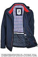 Куртка мужская демисезонная INDACO ITC606 тёмно-синяя, фото 1