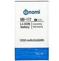 Original Акумулятор NOMI I177/I180 NB-177 1000mAh
