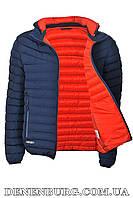 Куртка мужская демисезонная RUIHAO R5071 тёмно-синяя, фото 1