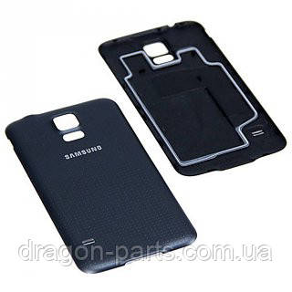 Задняя крышка Samsung G900F Galaxy S5 голубая/blue , оригинал GH98-32348C, фото 2