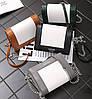 Fashion сумка сундучок для деловых девушек на цепочке-ремешке, фото 4