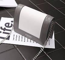 Fashion сумка сундучок для деловых девушек на цепочке-ремешке, фото 3