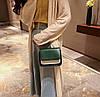 Модная двухцветная сумка-сундучок на цепочке, фото 5