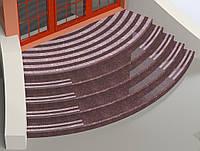 Лестница радиусная  из Токовского гранита , фото 1