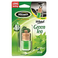 Aroma Car - Ароматизатор Wood Зелёный чай 6мл