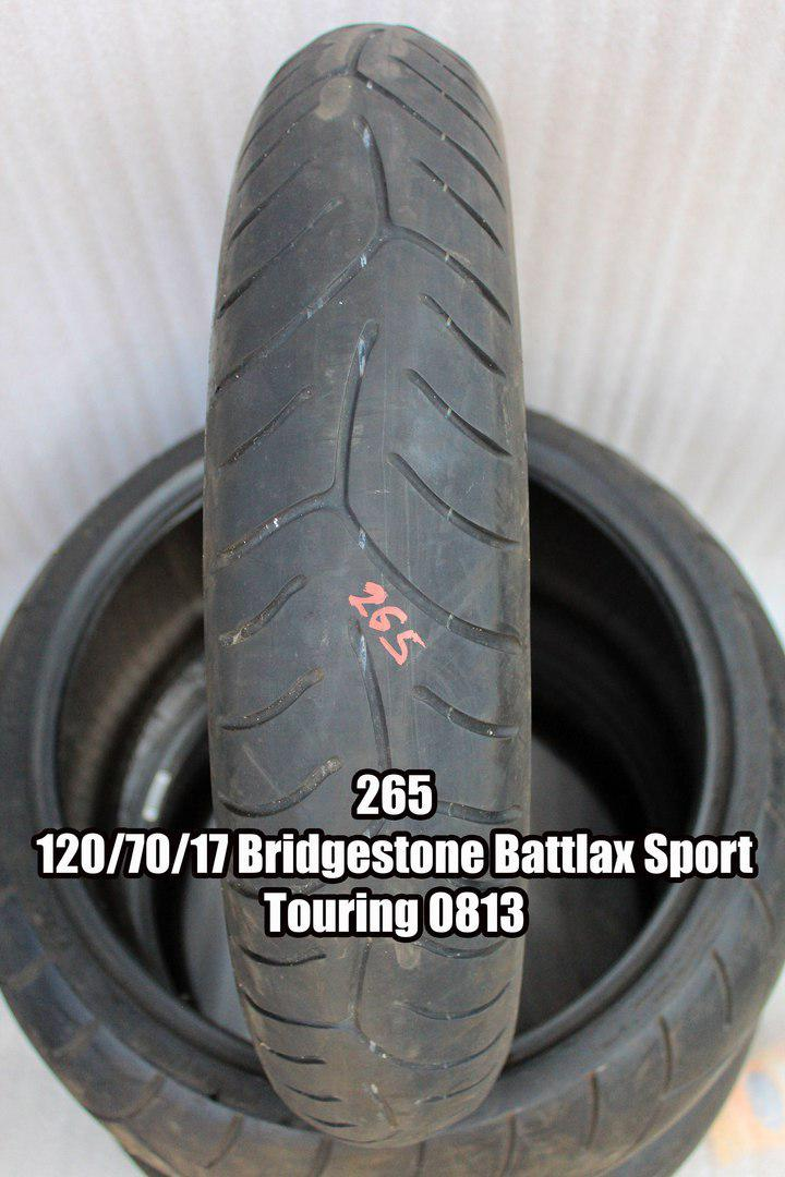 Резина Bridgestone Battlax Sport Touring (код 265) 120/70-17