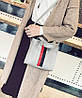 Модная аккуратная сумка на каждый день, с помпоном, фото 2