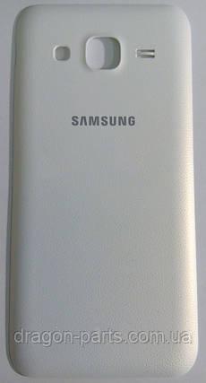 Задняя крышка Samsung J200 Galaxy J2 белая/white , оригинал GH98-38239A, фото 2
