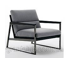 Современное кресло на металлическом черном каркасе DAYTONA фабрика Ditre Italia (Италия)