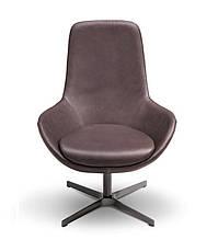 Итальянское вращающееся кресло с высокой спинкой LINEAR фабрика Ditre Italia