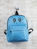 Тканинний рюкзак з вічками, фото 2