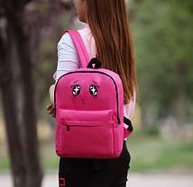 Тканевый рюкзак с глазками, фото 3