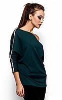 S-M / Спортивная женская кофта Grus, темно-зеленый