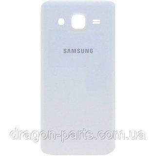 Задня кришка Samsung J500 Galaxy J5 білий/white , оригінал GH98-37820A