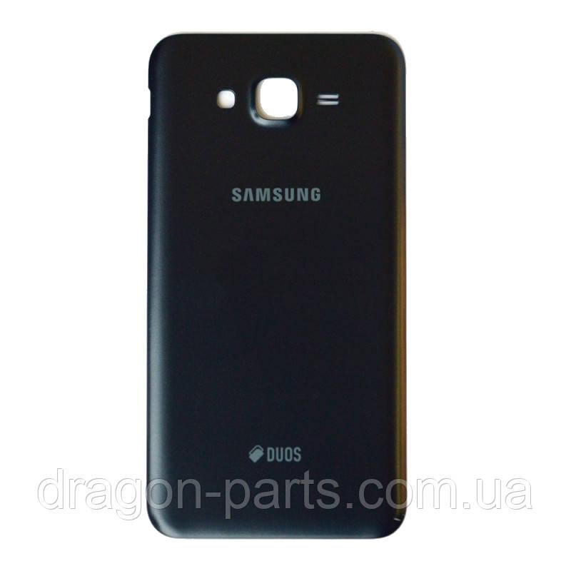 Задняя крышка Samsung J700 Galaxy J7 черная/black , оригинал GH98-37384C
