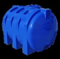 Емкость пластиковая 1500 литров горизонтальная 2х-слойная