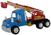 Машина без инерционная игрушка Пожарная Хеви Дьюти 50х50х23 см производитель Kinder Way
