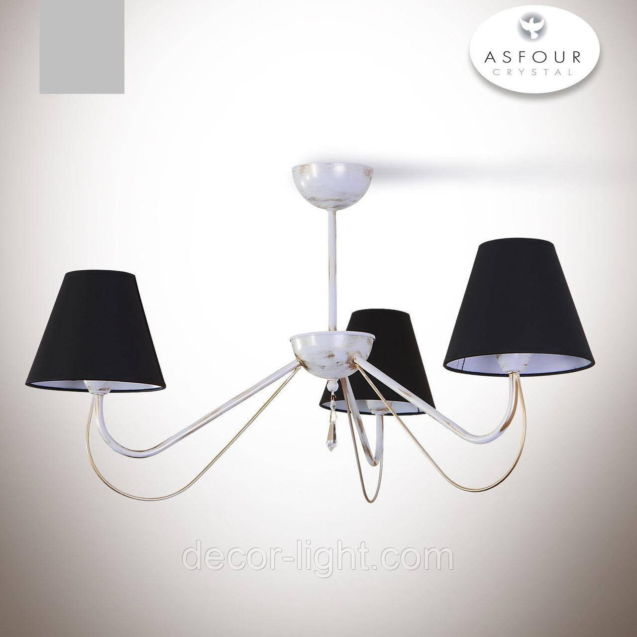 Люстра для небольшой комнаты, для спальни 3-х ламповая 20403-2