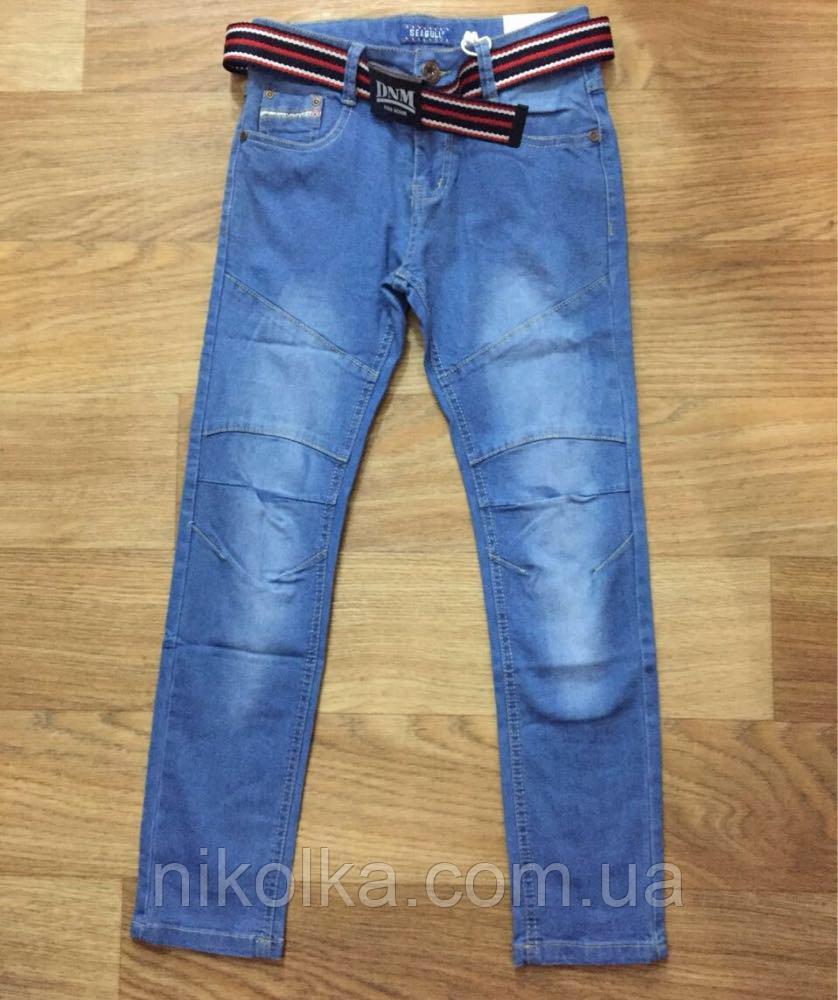 Джинсовые брюки для мальчиков оптом, Seagull, 134-164 рр.. арт.CSQ-89807